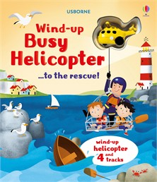 Wind-up busy helicopter...to the rescue
