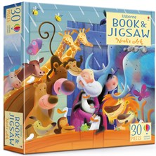 Noah's Ark picture book and jigsaw