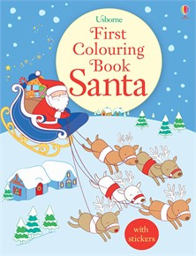 Gift pack first colouring book Santa (20 copies)