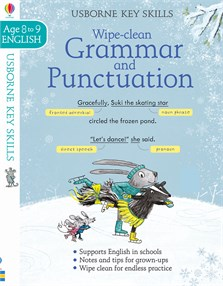 Wipe-clean grammar and punctuation 8-9