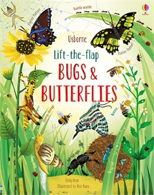 Lift-the-flap bugs and butterflies
