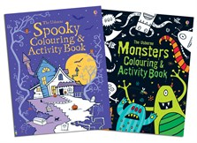 Halloween activities set