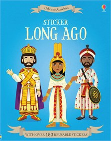 Sticker long ago