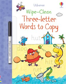 Wipe-Clean Three-Letter Words to Copy