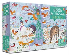 In the forest puzzle book and jigsaw