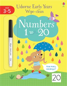 Wipe-Clean Numbers 1 to 20
