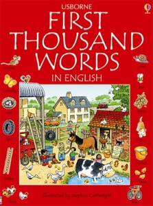First thousand words in English (US edition)