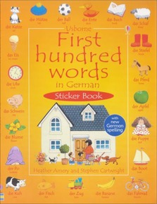 First hundred words in German sticker book