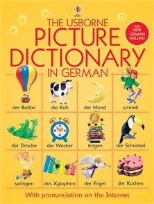 Picture dictionary in German