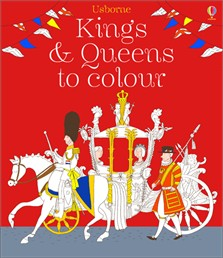 Kings and queens to colour