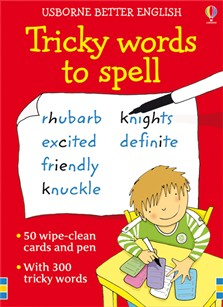 Tricky words to spell cards