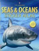 Seas and oceans sticker atlas