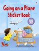 Going on a plane sticker book