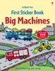 Big machines sticker book