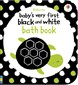 Black and white bath book