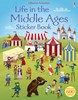 Life in the Middle Ages sticker book