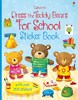 Dress the teddy bears for school sticker book