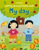 Getting dressed sticker book: My day