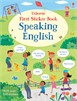 First sticker book: Speaking English