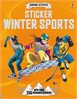 Sticker winter sports