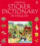Sticker dictionary in English