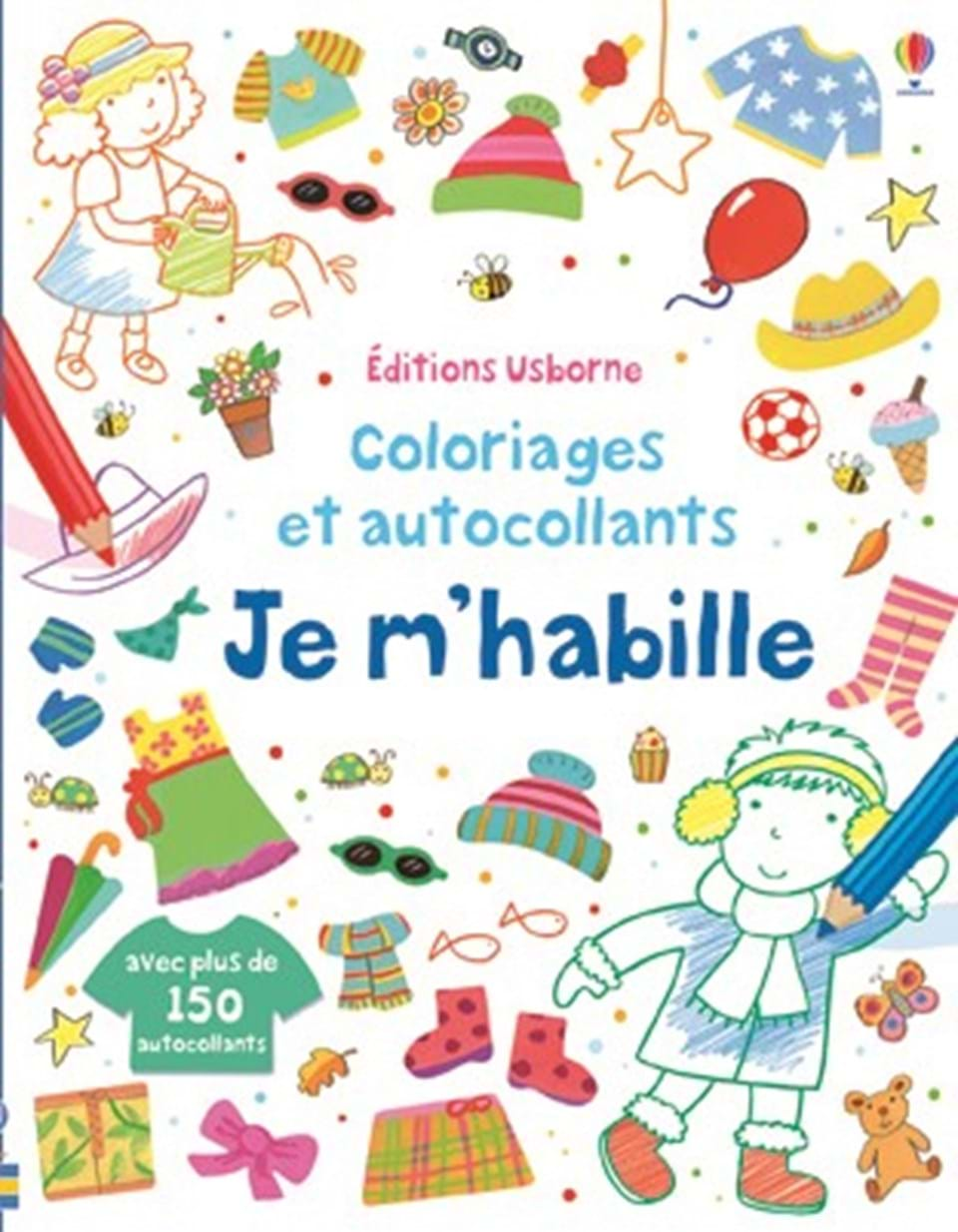 Je m 39 habille ditions usborne for Statut illustrateur