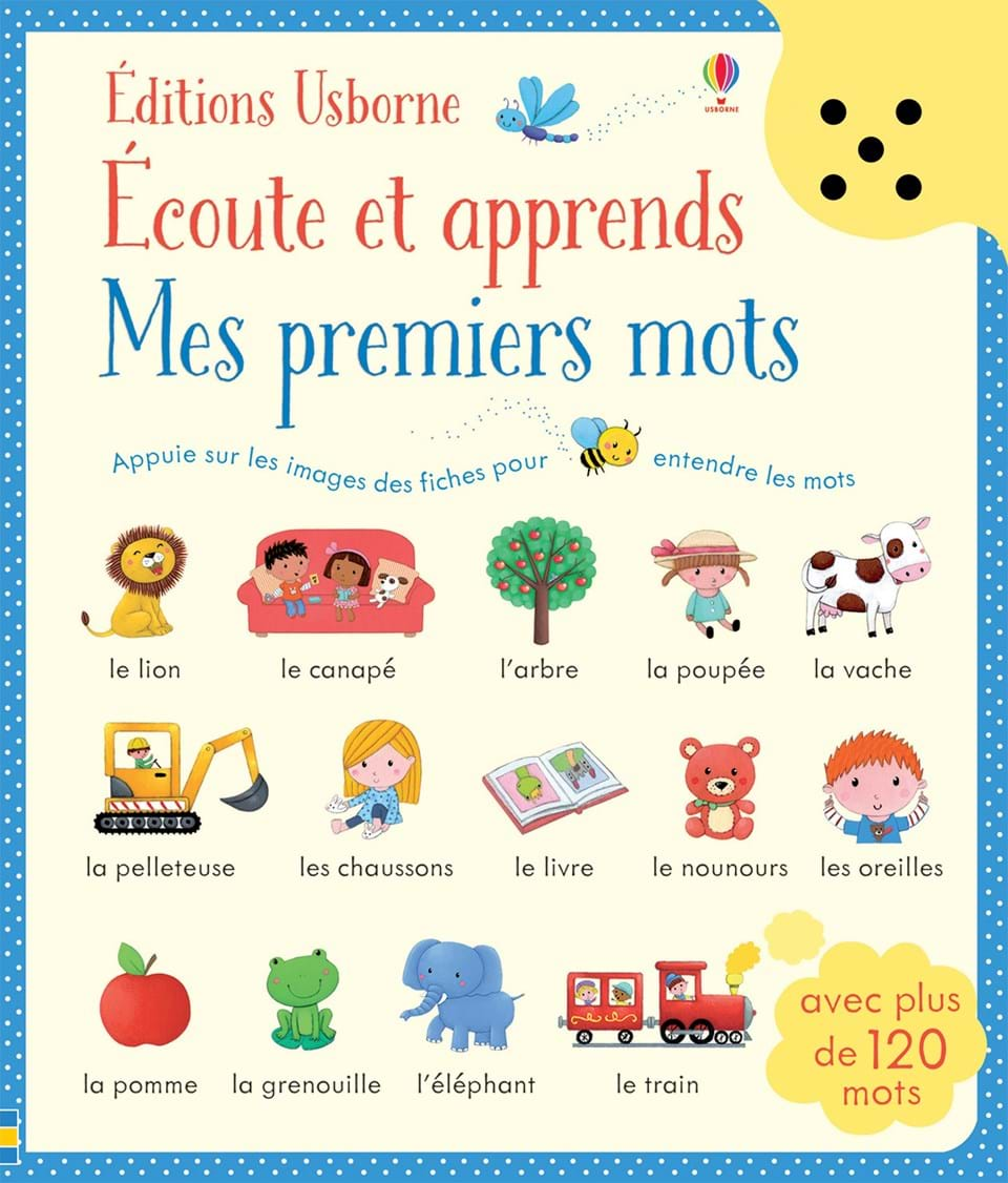 """Very Good Morning In German : """"mes premiers mots Éditions usborne"""