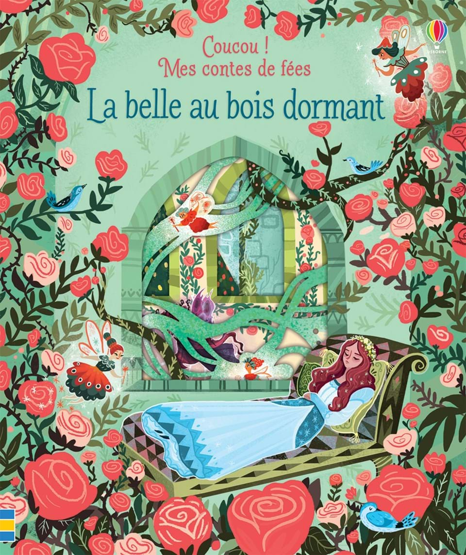 La belle au bois dormant ditions usborne for La belle au bois flotte