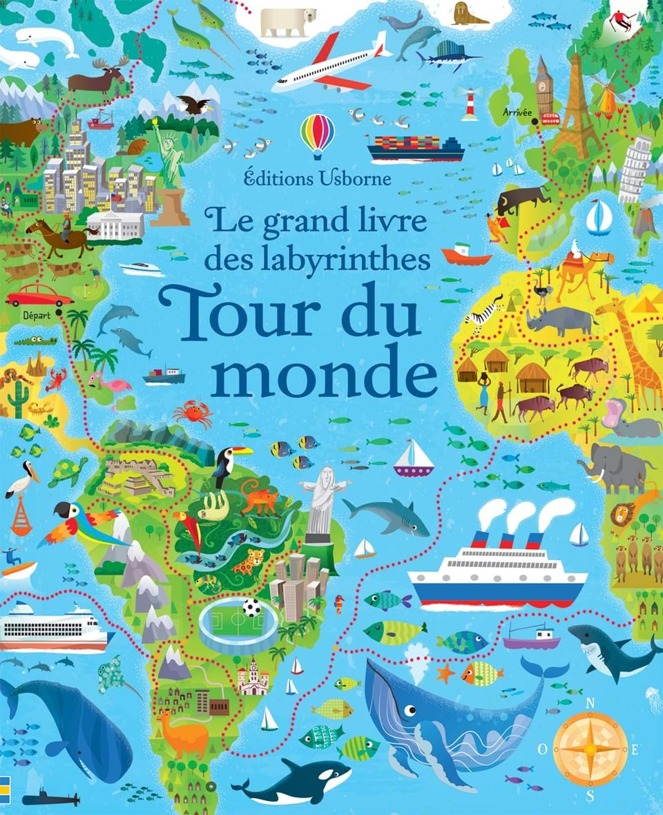 tour du monde ditions usborne. Black Bedroom Furniture Sets. Home Design Ideas