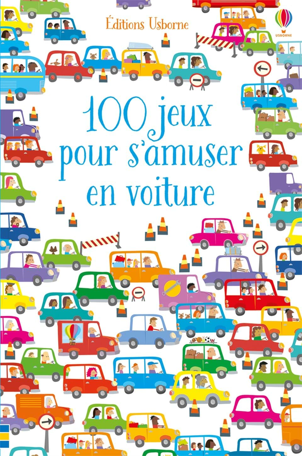 100 jeux pour s 39 amuser en voiture ditions usborne. Black Bedroom Furniture Sets. Home Design Ideas