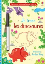Je trace les dinosaures