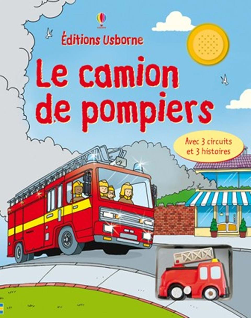 le camion de pompiers ditions usborne. Black Bedroom Furniture Sets. Home Design Ideas
