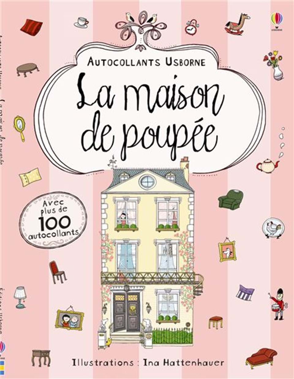la maison de poup e ditions usborne. Black Bedroom Furniture Sets. Home Design Ideas