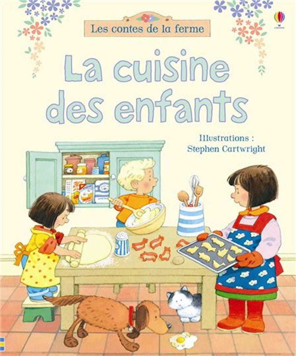la cuisine des enfants ditions usborne. Black Bedroom Furniture Sets. Home Design Ideas