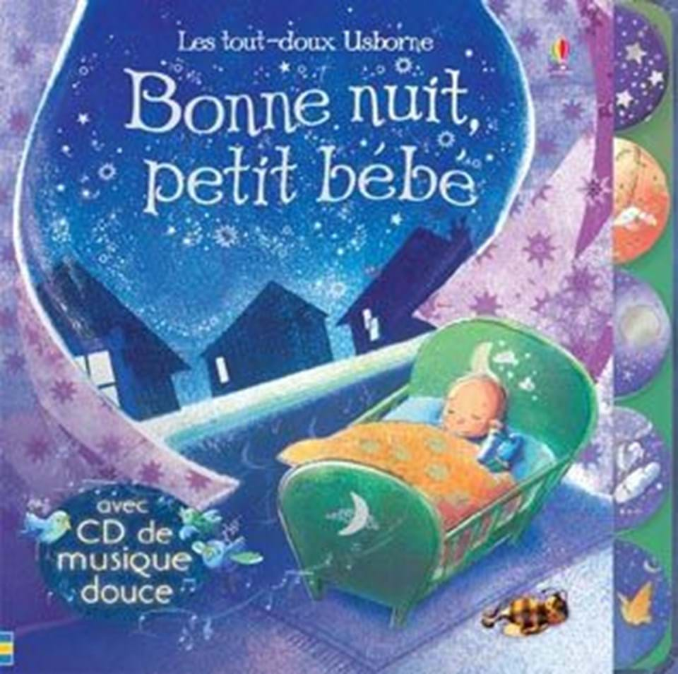 bonne nuit petit b b ditions usborne. Black Bedroom Furniture Sets. Home Design Ideas