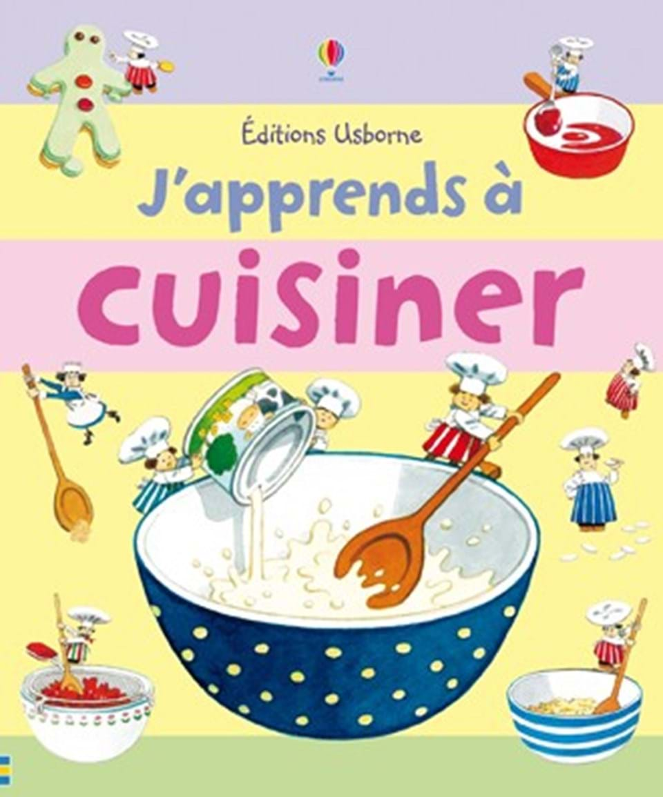 j 39 apprends cuisiner ditions usborne