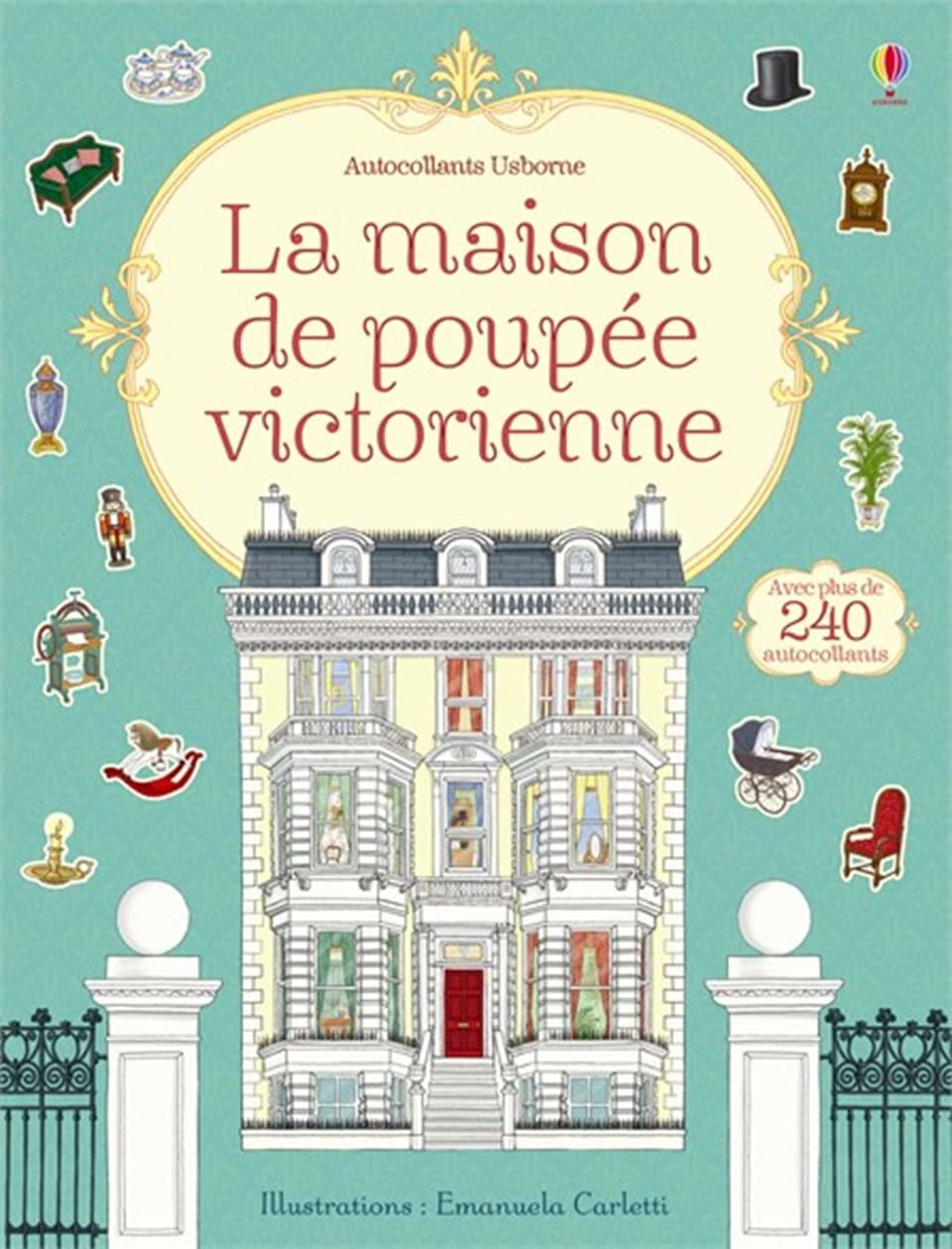 la maison de poup e victorienne ditions usborne. Black Bedroom Furniture Sets. Home Design Ideas