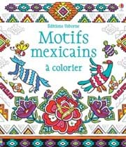 Motifs mexicains à colorier