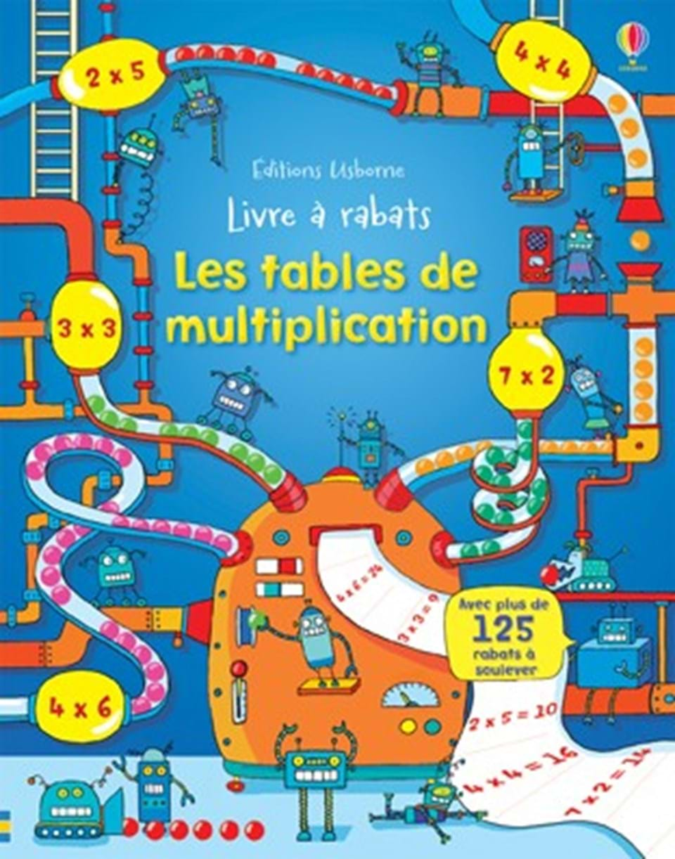 Les tables de multiplication ditions usborne - Apprentissage des tables de multiplication ...