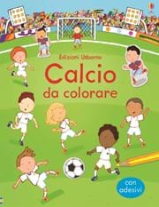 Calcio da colorare