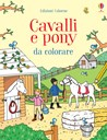 Cavalli e pony da colorare