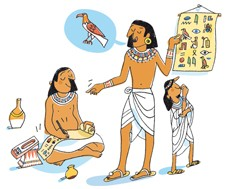 Find out more about hieroglyphs