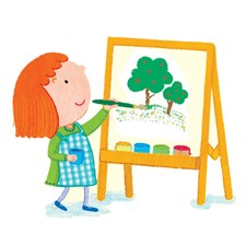 Painting and drawing activities
