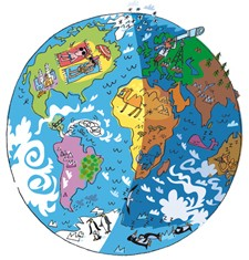Our world puzzles and quiz
